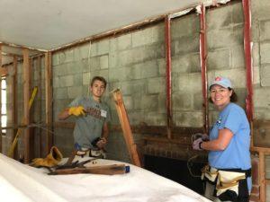 Sykesville Family Room Wall Demolition